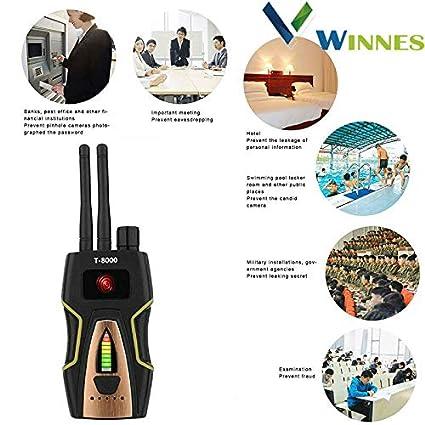 Detector de winnes GPS: Cámara Lens láser gsm Listening Device Finder Radar Radio Scanner,