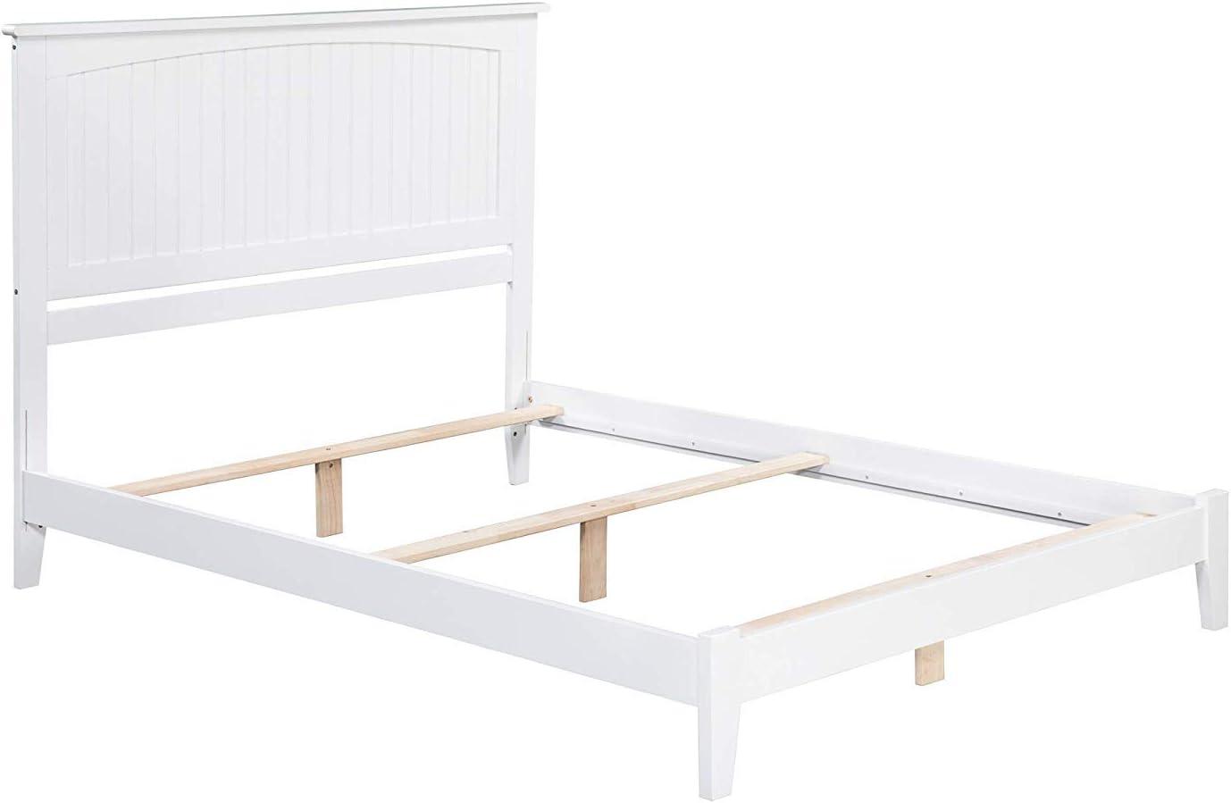 Atlantic Furniture Nantucket Traditional Bed, Full, White