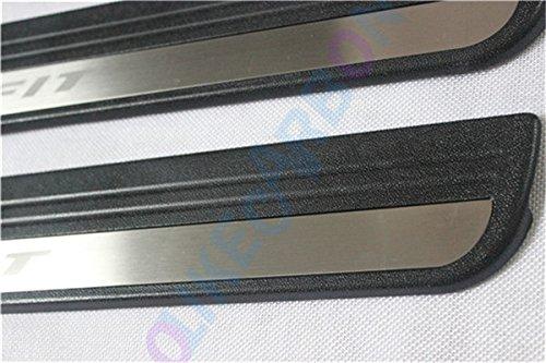 For Honda FIT OEM Door Sill Scuff Plate Guard Sills Protector Trim 2008-2013