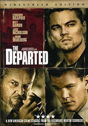 THE DEPARTED Movie Cast PHOTO Print POSTER Jack Nicholson Matt Damon Film Art 02
