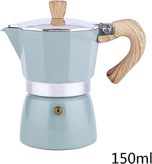 Junlinto, Aluminio Italiano Moka Espresso Cafetera Percolador ...