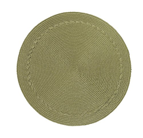 Kay Dee Placemat (Kay Dee Designs Easy Living Wipe Clean Round Placemats (Set of 4),)