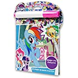 My Little Pony Premium Grade Magic Ink Reveal 1 Coloring Book of 24 Pages with 1 Mess Free Imagine Ink Marker Great Combo for Kids (Pack of 3)