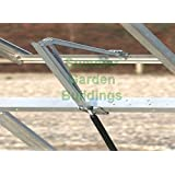 AUTOMATIC GREENHOUSE WINDOW OPENER - HEAT SENSITIVE SOLAR POWERED AUTO ROOF VENT