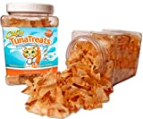 TunaTreats – Gourmet Dried Bonito Flakes Cat Treats – 2oz Easy Grip Container, My Pet Supplies