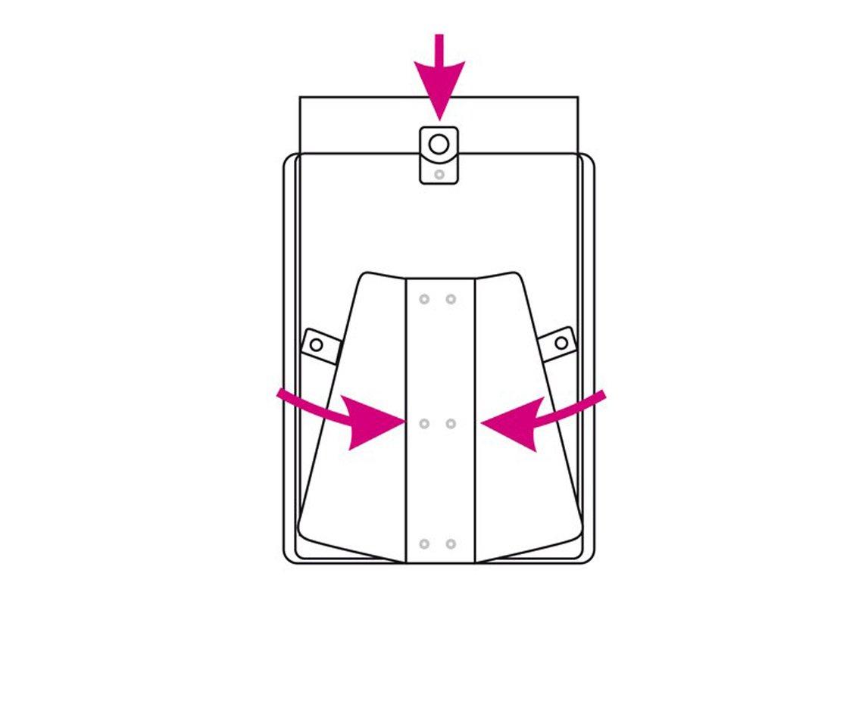 trasparente formato DIN A3 Veloflex 3403000 Espositore per locandine