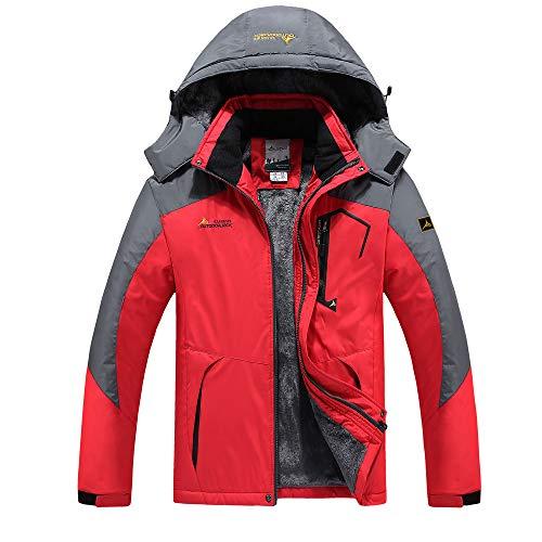 Étanche Manteau Montagne Sportif Rouge Capuche Coupe En Coton Hommes À Coupe Roiper De Imperméable Veste pluie vent Anorak Homme w0wqXgC