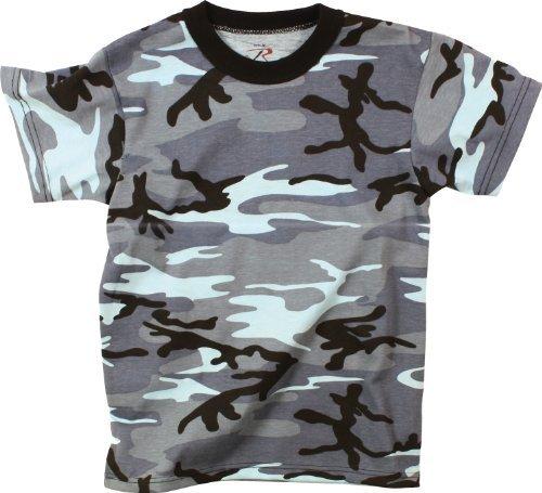Cotton Sky Blue Camouflage - 9