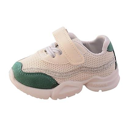 Zapatos de Bebe, ❤ Amlaiworld Zapatillas de deporte con suela blanda y malla de Unisex Bebé Niñas Niños Zapatos de otoño invierno Botas Calzado: ...