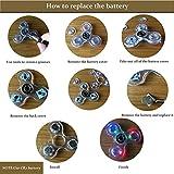 FIGROL Fidget Spinner, Clear Fidget Toy, Crystal