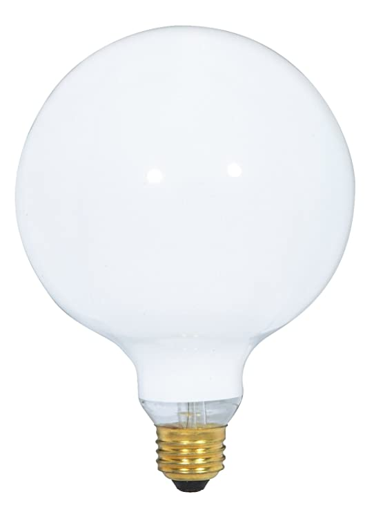Satco S3004 120 Volt 150 Watt G40 Medium Base Light Bulb Gloss