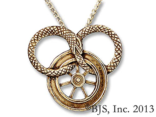 Badali Jewelry Officially Licensed Wheel of Time Necklace