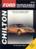 Ford Taurus/Sable 1996-01 Repair Manual, Eric Michael Mihalyi and Ken Layne, 1563925877
