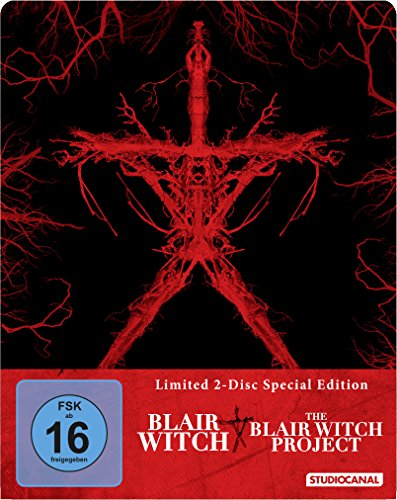 Blair Witch & Blair Witch Project, 2 Blu-ray (Steel Edition)