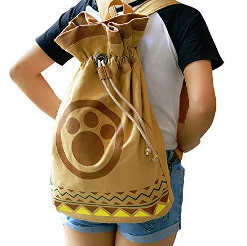 GK-O Monster Hunter 4 Toy Anime Cosplay Airou Airu Cat Shoulder Bag Backpack -