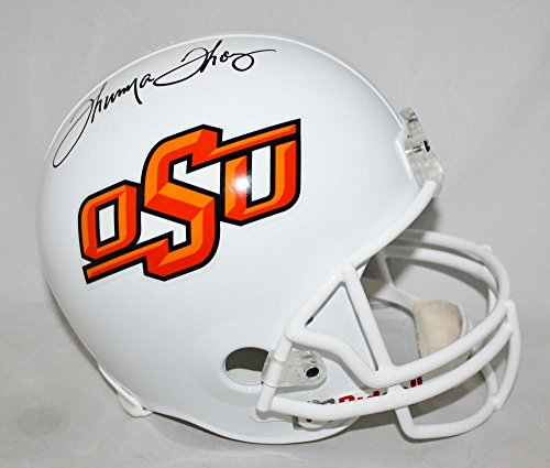 Thurman Thomas Signed Oklahoma State Cowboys F/S Helmet- JSA W Auth
