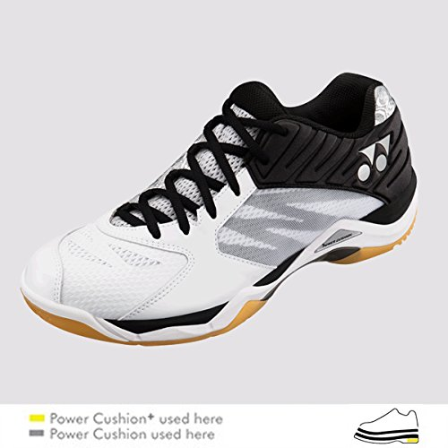 Yonex Chaussures De Badminton Hommes Visite Confortable Pour Le Blanc / Argent