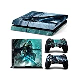 Sony PlayStation 4 Skin Decal Sticker Set - World of Warcraft: Wrath of the Lich King (1 Console Sticker + 2 Controller Stickers) by SE Decor