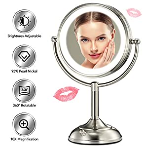 Professional 8.5″ Lighted Makeup Mirror