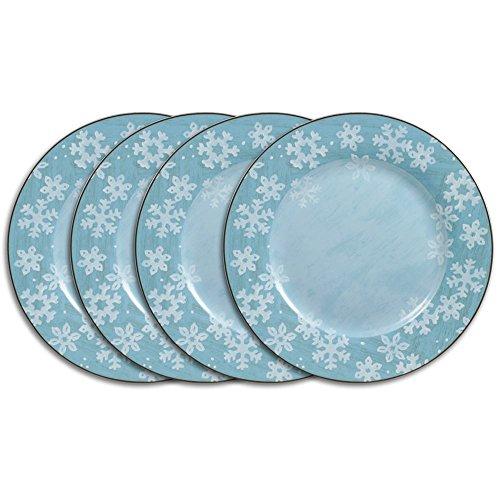 Pfaltzgraff Evergreen Ernie Dinner Plates, Set of -