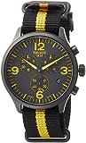 Tissot T116.617.37.057.00 Men's Chrono XL Watch Black 45mm Nylon