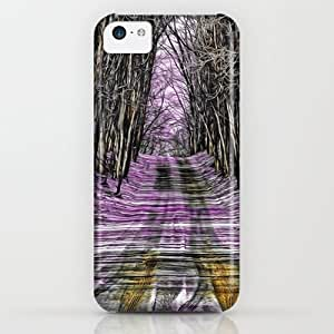 Society6 - Road Through The Mystical Forest iPhone & iPod Case by Sara Dowling
