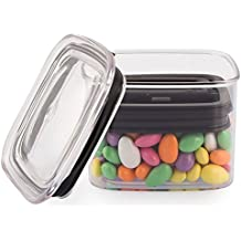 Airscape Lite Plastic Food Storage Canister, 32 oz - Patented Airtight Lid Preserves Food Freshness