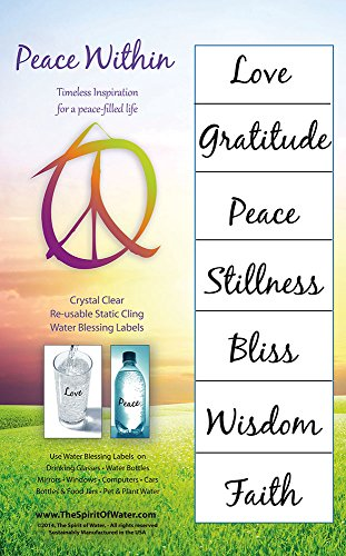 Water Blessing Labels - Inner Peace