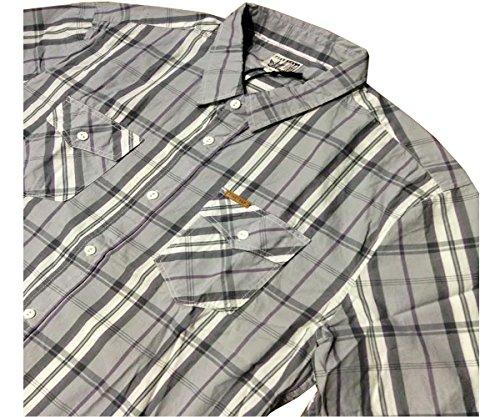Firetrap New Johnny Lilas XL Chemis'à carreaux à manches courtes pour homme