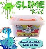 Slime Kit, DIY Slime Kit, Slime Kit for Girls, Slime Kit for Boys, Starter Kit, Make Your Own Slime,, (Everything in one Box, Great Gift Idea, All Supplies, All Accessories, Organized