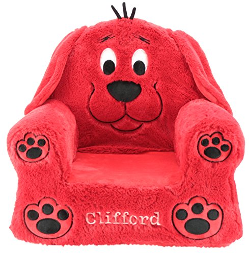 Animal Adventure Sweet Seats   Clifford Childrens Chair   Large Size   Machine Washable Cover