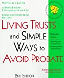 Living Trusts: And Simple Ways to Avoid Probate With Forms (Legal Survival Guides)