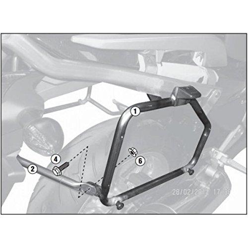 Givi - Pl1111 - monokey Pannier Rack Honda nc700 x/nc700 s (12-13)