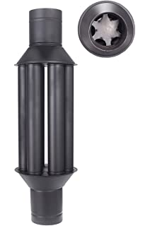 Vortice Caldofa 32 m³/h Negro 20 W - Recuperadores de calor para ...