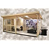 Allwood Solvalla | 172 SQF Studio Kit Cabin, Garden House