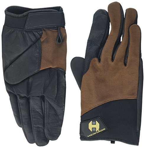 Heritage Marathon Gloves, Size 10, Brown - Heritage Competition Gloves