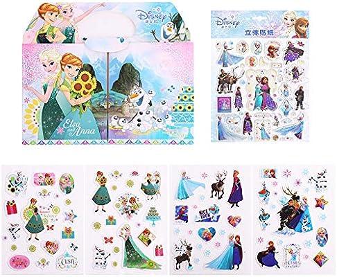 Neilden 3d Disney Frozen Stickers 100 For Kids 2 4 Aesthetic