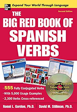 the big red book of spanish verbs second edition   kindle