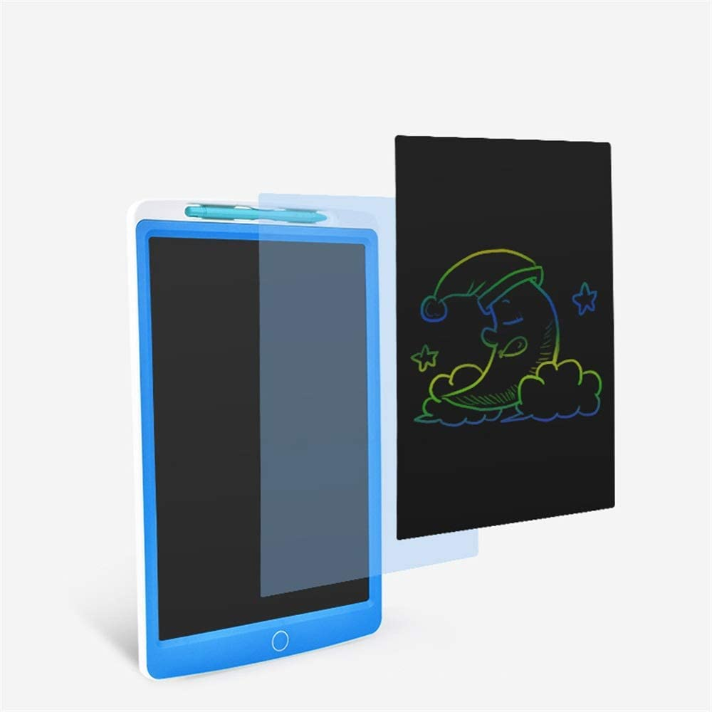Color : Blue, Size : 12 inches YonCog Creative 3 Pcs 12 Inch Childrens LCD Tablet Graffiti Painting Color Writing Board Manuscript Board Increase Creativity