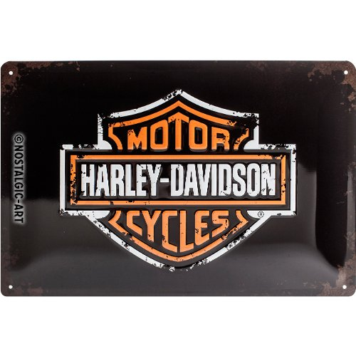 Nostalgic Art Harley Davidson Pre-Luxe (pale) cork backed drinks coaster (na) 46102