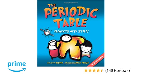 The periodic table elements with style simon basher adrian the periodic table elements with style simon basher adrian dingle 9780753460856 amazon books urtaz Images