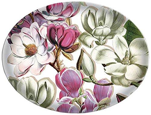 - Michel Design Works Glass Soap Dish, Magnolia
