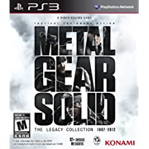 Metal Gear Solid The Legacy Collection - PlayStation 3