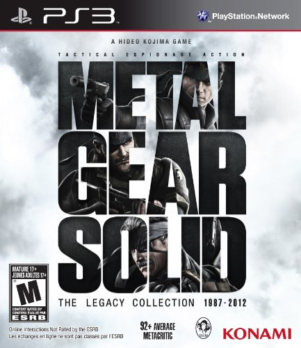 Metal Gear Solid Legacy Collection - Playstation 3 (Best Japanese Gamecube Games)