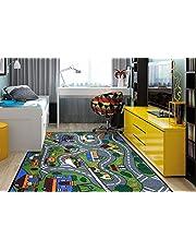 "Ottomanson JNA370099-3X5 educational rug, 3'3""X5'0"", Multi"