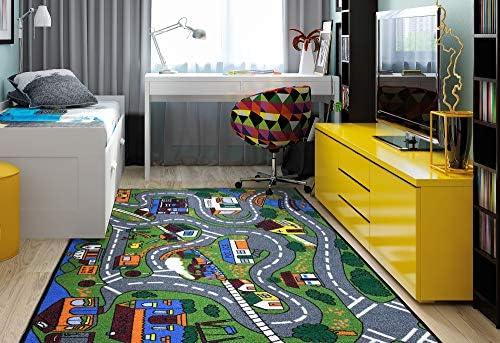 Ottomanson JNA370099-3X5 educational rug, 3'3″X5'0″, Multi