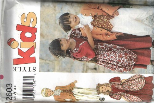 Style (Colonial Costumes Patterns Boys)