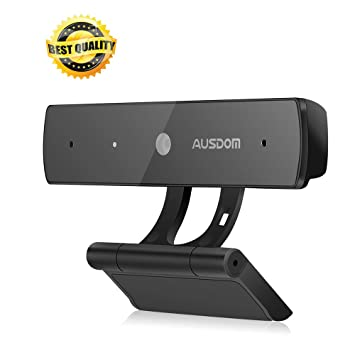 AUSDOM Webcam 1080P, Full HD Web Cam PC Computer USB Mini Camera with  Microphone for
