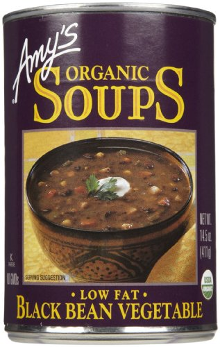 Amy's Low Fat Black Bean Soup, 14.5 oz, 3 pk (Amys Soup Black Bean)