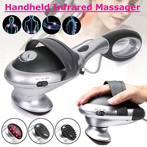 LUCKYFINE Electric Infrared Heat Massager Handheld Percussion Machine Wand Back Full Body